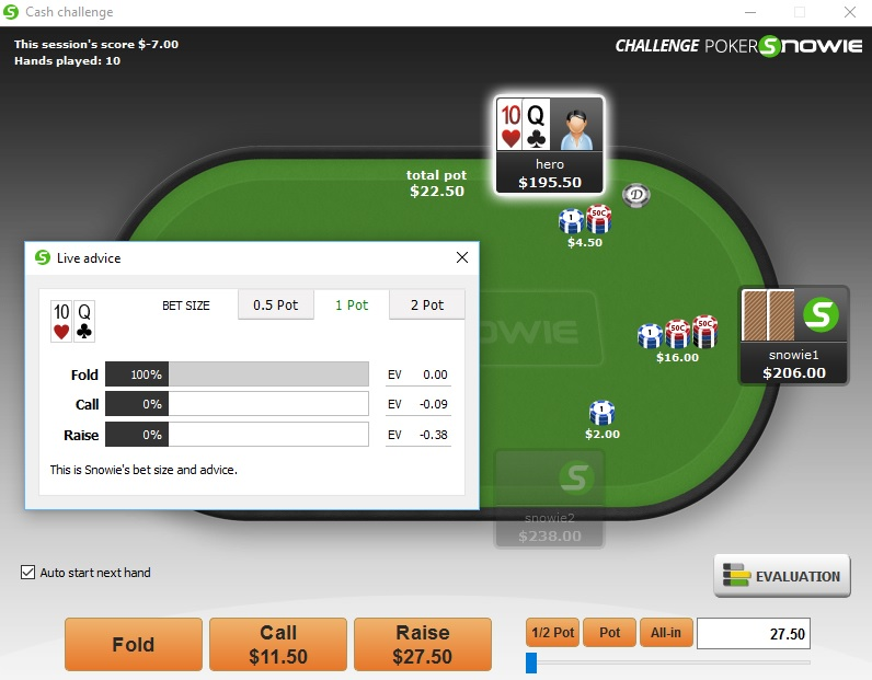 PokerSnowie Review Challenge