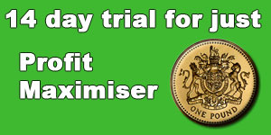 Profit Maximiser 14 Days for £1